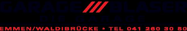 Logo Garage Blaser AG